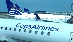 Panama City Tocumen airport is the biggest hub for Copa Airlines.