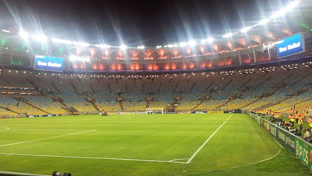 Maracana Stadium in Rio de Janeiro, site of the 2014 World Cup. PHOTO: Rodrigo Padula