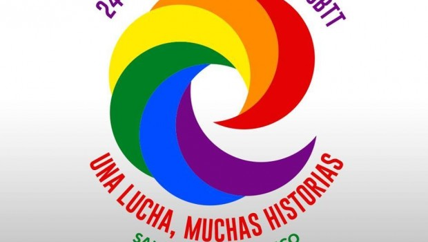 The logo for Orgullo Gay 2014, the gay pride celebration in Puerto Rico.