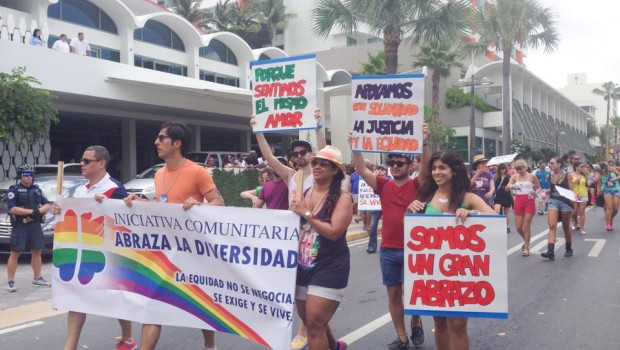 Various groups participated in the Puerto Rico gay pride parade in San Juan.