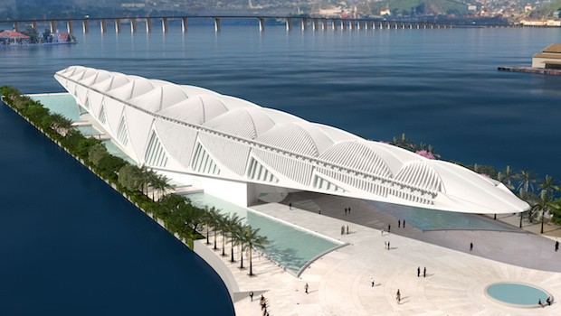 The Museu do Amanhã, the Museum of Tomorrow, opens in 2015 in Rio de Janeiro.