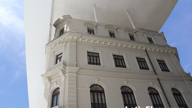 One of the buildings of the Museu de Arte de Rio de Janeiro, Rio's new art museum.