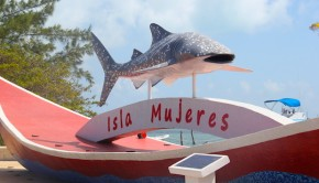 Isla Mujeres is an easy day trip from Cancun, Mexico.
