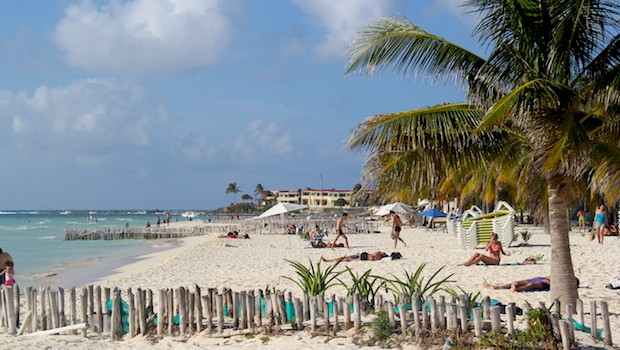 Playa Norte is one of the best Mexico beaches on Isla Mujeres.