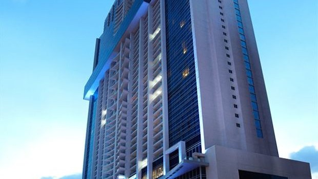 The 66-story Hard Rock Hotel Panama Megapolis has 1,500 rooms.