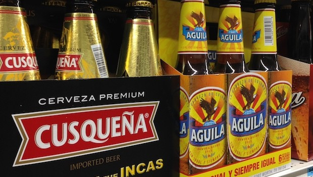 Cusqueña and Aguila are two of Latin America's best-selling beers.
