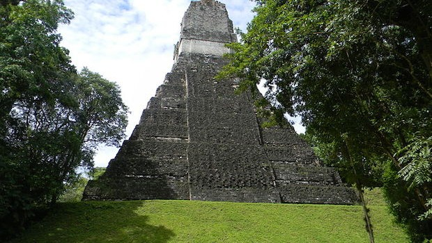 Tikal temple in Guatemala. PHOTO: Laslovarga