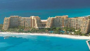The Fiesta Americana Grand Coral Beach hotel in Cancun.