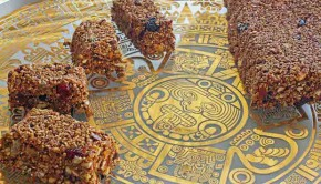 Aztec Energy Bars, from Viceroy Zihuatenejo hotel in Mexico.