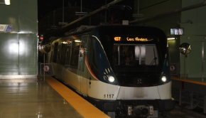 The Panama Metro is the first such train system in Central America.