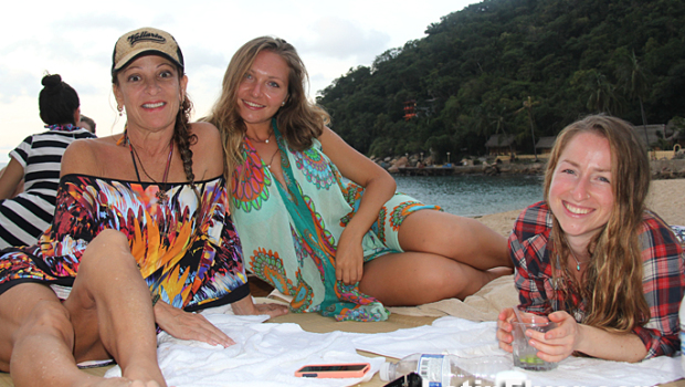 Revelers love the hip vibe at the new Chicos Yelapa Beach Club in Mexico.