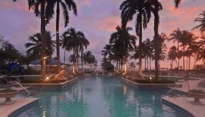 The pool at the Ritz-Carlton, San Juan hotel in Puerto Rico.