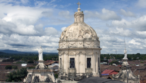 The historic city of Granada is the top tourism destination in Nicaragua.
