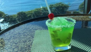 St. Patrick's Day cocktails from the Hilton Santo Domingo.