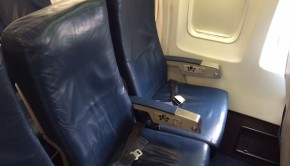 Airline seating: Delta Air Lines Boeing 757-200, Mexico City to NYC.