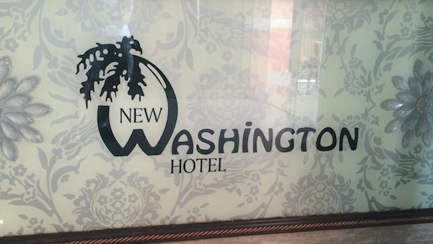 Colon's once-great hotel is now called the New Washington.
