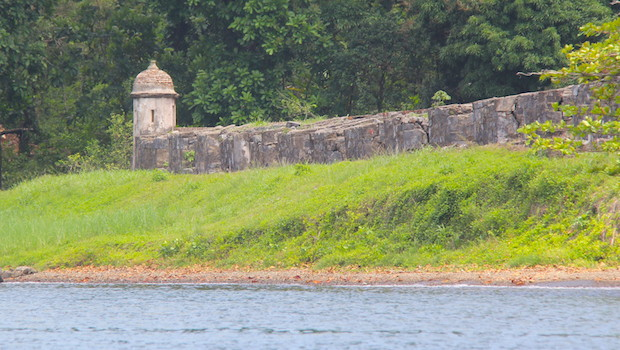 These walls once guarded Portobelo, Panama from attackers.