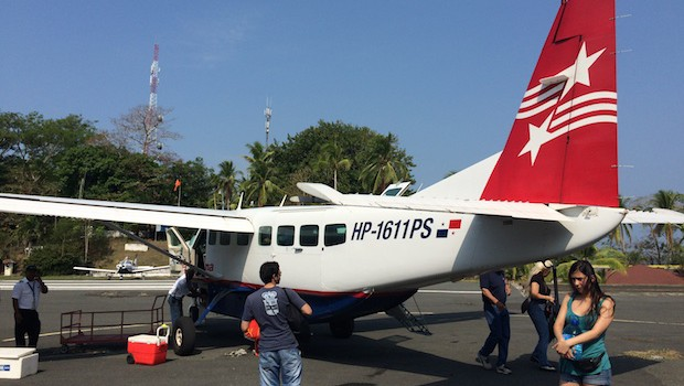 Air Panama offers daily flights to Isla Contadora.