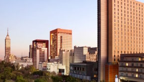 The Hilton Mexico City Reforma offers some of the city's best views.