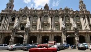 Gran Teatro de La Habana, a famous theater in Cuba. Photo: Brian Snelson.