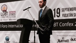 Ruben Sandoval, CEO of LGBT Confex, Mexico's largest LGBT business forum.
