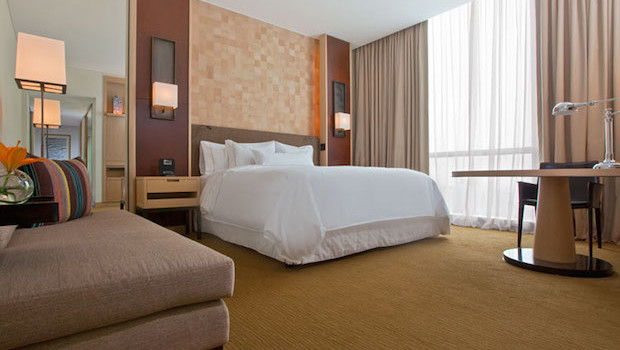 Executive king guest room at Westin Lima Hotel & Convention Center in Peru.