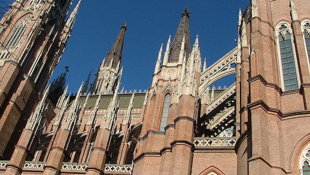 Catedral de la Plata, one of the largest churches in Argentina.