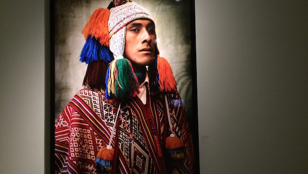 Photography at the Mario Testino Museum in Lima, Peru.
