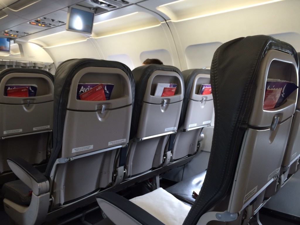 Airline Review Avianca Airbus A321 Lima To San Salvador