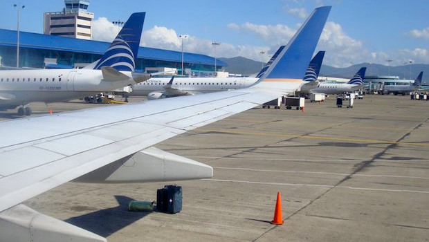Panama City Tocumen airport and Copa Airlines scored best for on-time performance.