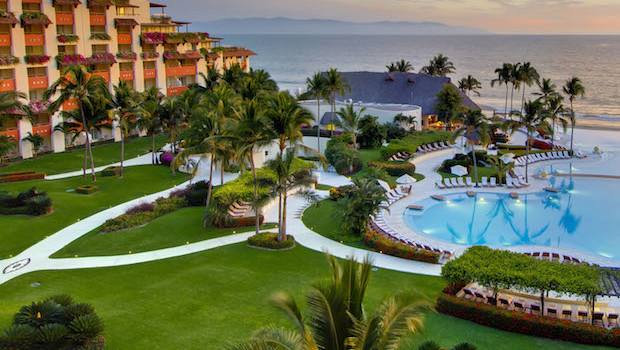 Grand Velas Riviera Nayarit is a Mexico beach resort on the Pacific coast.