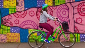 Santiago de Chile is a fun place to tour by bike. Photo: La Bicicleta Verde