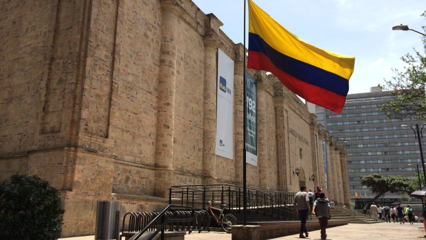 The Museo Nacional (National Museum) in Bogota, Colombia.