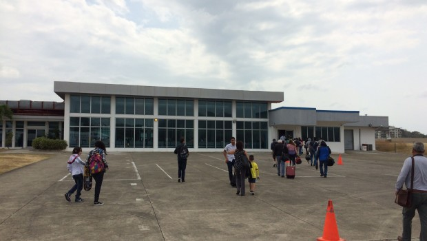 Yep, it's an airport: Panama Pacifico International Airport.