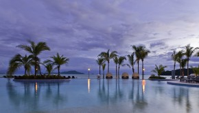 Infinity pool at the Westin Playa Bonita resort in Panama.