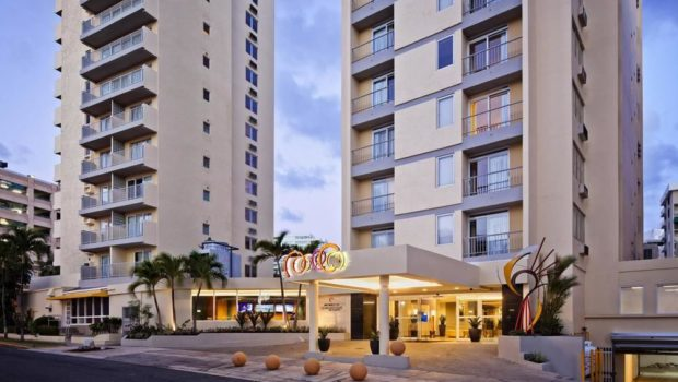 Best Western Plus Condado Palm Inn & Suites in San Juan, Puerto Rico.