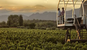 Entre Cielos hotel is heaven for wine lovers in Mendoza, Argentina.