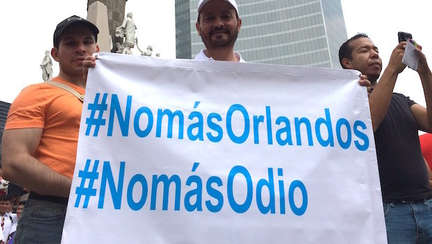 """No more Orlandos"" and ""No More Hate"""