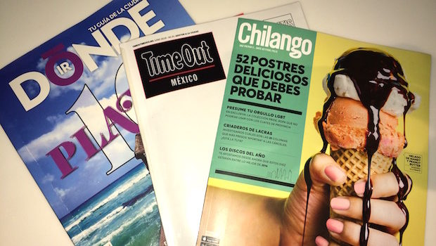 These three magazines are the best travel guides to Mexico City.