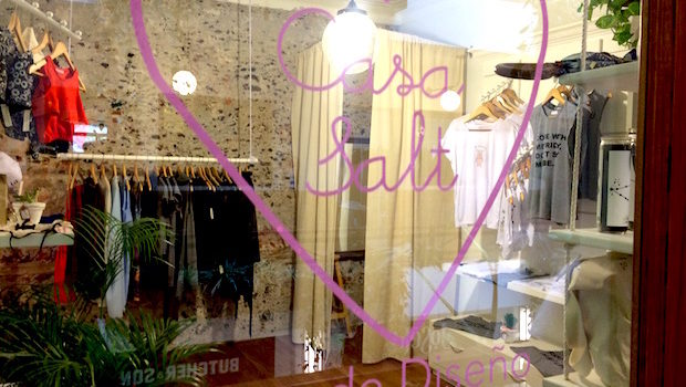 Casa Salt is a clothing store at Barrio Alameda in Mexico City.