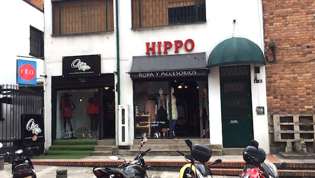 Hippo is a clothing store in Bogota with fashion by Colombian designers.