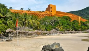 Las Brisas Ixtapa is a Mexico beach resort on the Pacific coast.