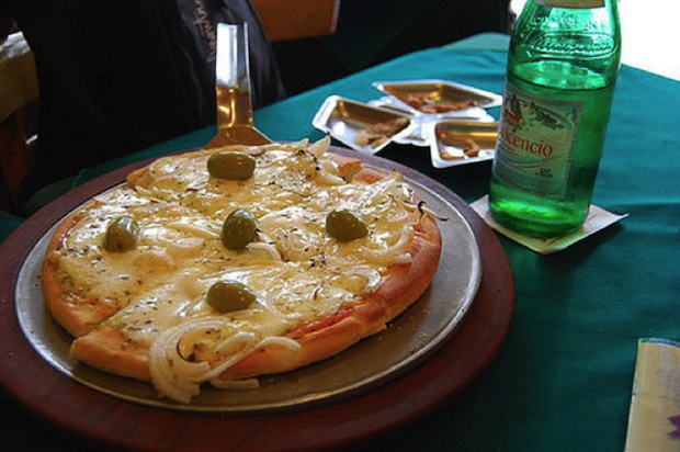 Fugazetta is something like an Argentine pizza.