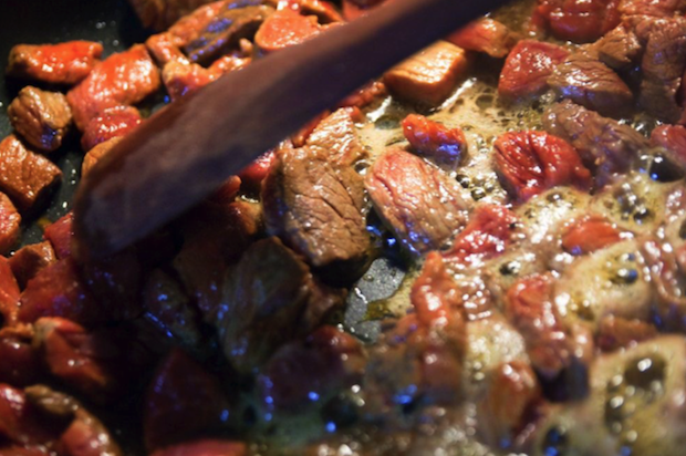 Carbonada, the popular Argentinian stew.