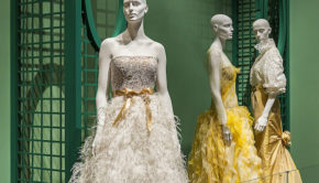 """Oscar de la Renta: Five Decades of Style"" at the Bush Center."