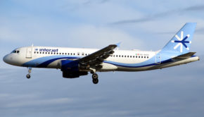 An Interjet Airbus A320.