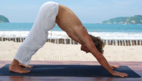Yoga at the Viceroy Zihuatanejo resort in Mexico.