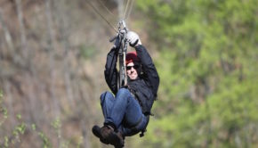 Zip lines provide excitement in Latin America.