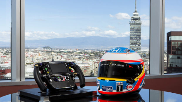 The McLaren-Honda suite offers racy accommodations at Hilton Mexico City Reforma.