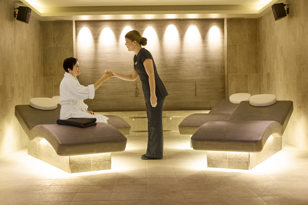 The spa aboard Viking Cruises' Viking Star.